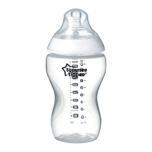 Tommee Tippee Closer to Nature Klare Flasche, 340 ml