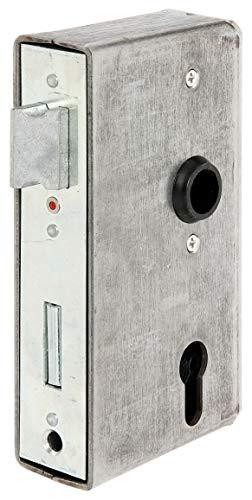 GAH-Alberts 417055 Schlosskasten | mit verzinktem Schloss | Stahl | Dornmaß 60 mm | 172 x 94 x 40 mm