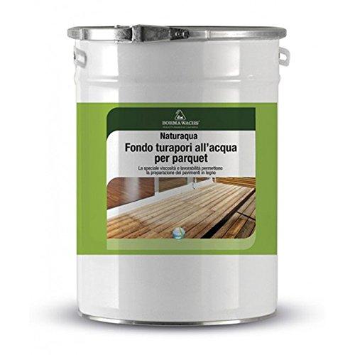 Barniz fondo al agua para parquet turapori es para el tratamiento de parquet interiores. - 1 litro -