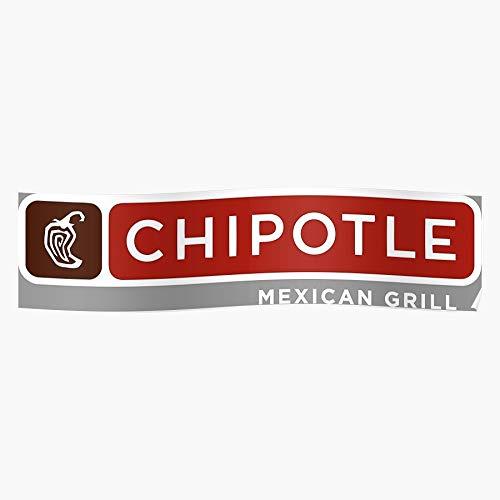 boscovs Organization Food Mexican Cuisine Business Chipotle Operation Grill Das eindrucksvollste und stilvollste Poster für Innendekoration, das derzeit erhältlich ist