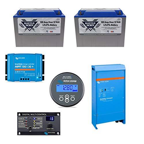Battle Born Batteries Keep Your Daydream 200ah Lithium Bundle