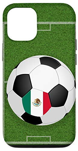 iPhone 12/12 Pro Soccer Ball Player Mexico National Flag...