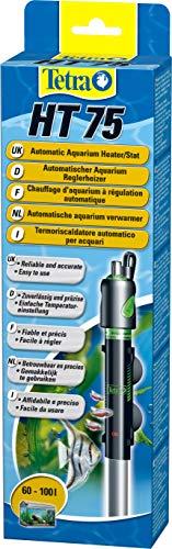 Tetra HT 75 - Potente calentador de acuario para cubrir diferentes niveles de potencia con el mando de ajuste de temperatura