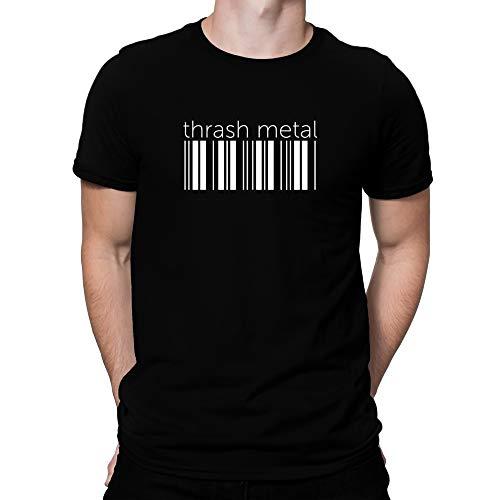 Teeburon Thrash Metal Lower Barcode Camiseta