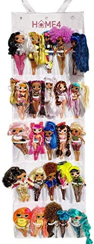 HOME4 Hanging Over The Door Storage Organizer Holder Compatible with Surprise Toys Dolls OMG product image