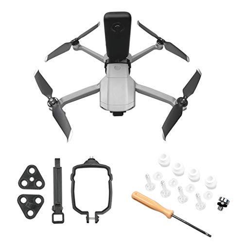 Hensych 1 set di adattatore di collegamento per fotocamera Mavic Air 2/Air 2S Drone, fotocamera panoramica e sportiva supporto fisso per Insta360 ONE X per GoPro Hero 7/8