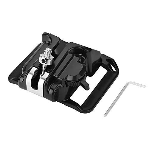 Akozon Camera Hanger Camera Hanger 1/4in Screw Mount Quick Release Waist Belt Buckle Holder for DSLR Camera