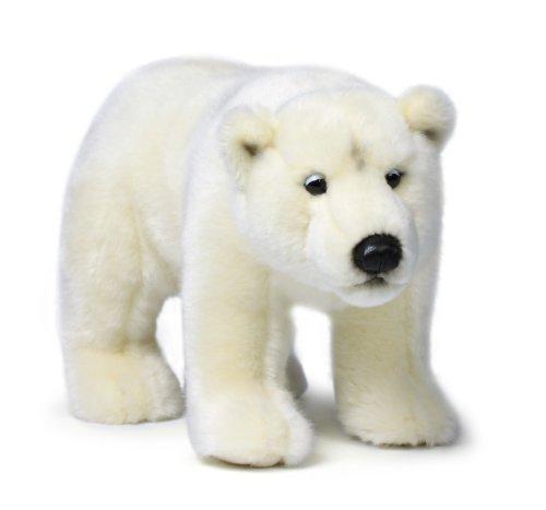 Mimex WWF14789 - Plüsch, Eisbär, 31 cm