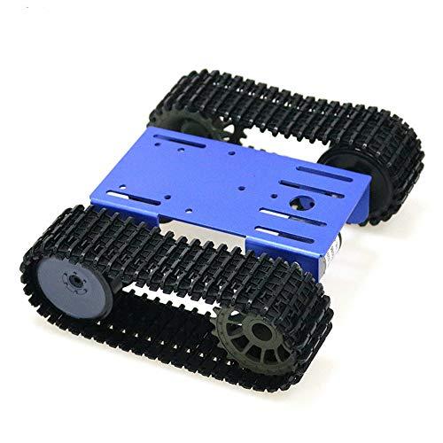 KKmoon Smart Roboter Model Car Kit, Tank Mobile Platform Panzer Mobile Plattform Roboter Spielzeug Plattform Kompatibel mit Arduino