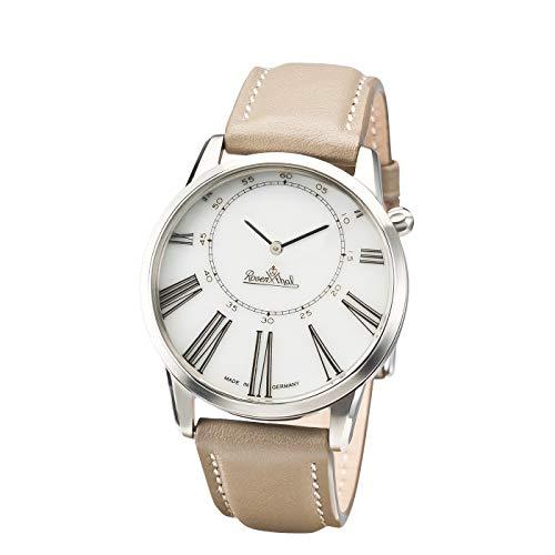 Rosenthal Watch-Collection Armbanduhr 'Asymetria' silver-white-grey