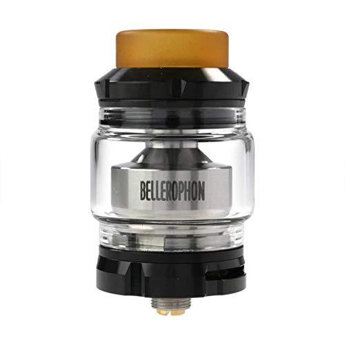 Wismec Bellerophon Clearomizer, Tankvolumen 4 ml, Durchmesser 27 mm, Riccardo Verdampfer für e-Zigarette, schwarz