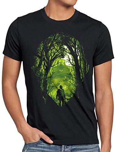 A.N.T. Hyrule Legacy Herren T-Shirt link Zelda Ocarina, Größe:L