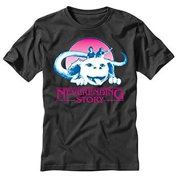 TeeINKS Stranger Things Neverending Story Black T Shirt  XXX-Large