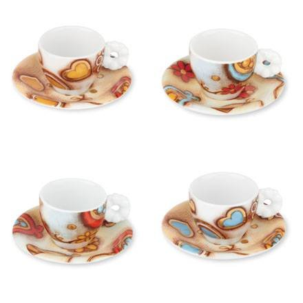 THUN Espressotassen Set 4 Stück