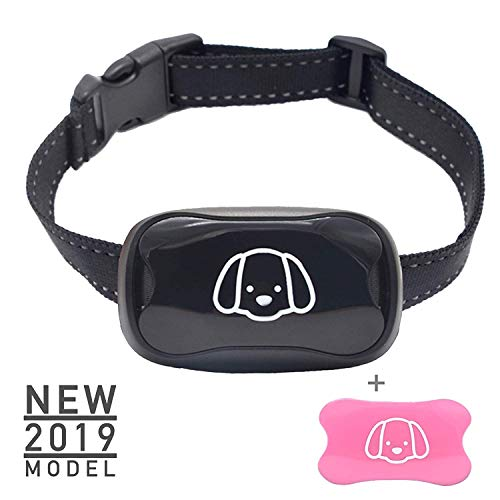 ALTAM Dog Bark Collar - New 2019 Humane No Shock Barking Control Device with 7 Sensitivity Settings for Training Small, Medium & Large Breed Dogs