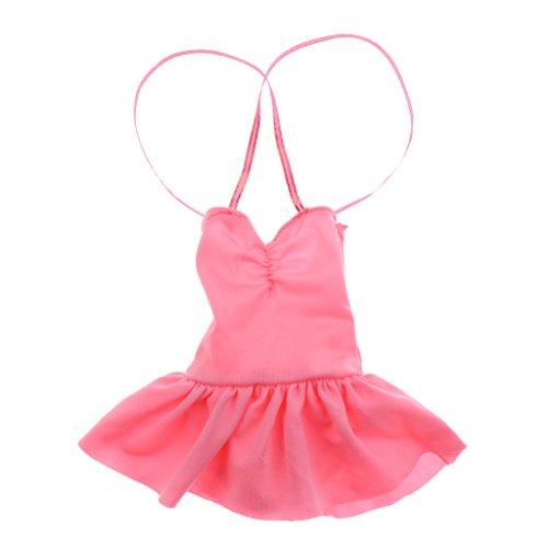 CUTICATE 1: 3 BJD Sexy Bademode Kleid Schnürung Badeanzug Für 60cm Lolita MSD Zubehör - # A - Rosa