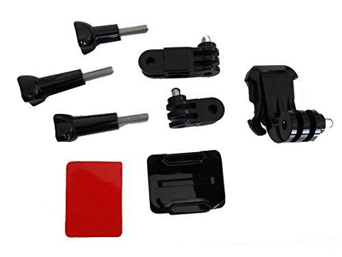 vhbw Kit de fijación para Casco de Bicicleta o de Moto para...