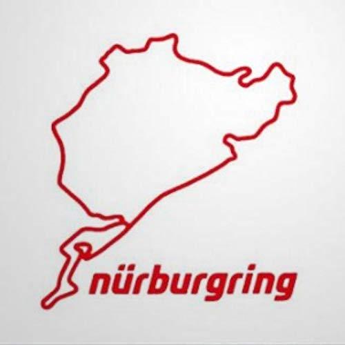 calcomanía decorativo para pared, diseño de Nürburgring