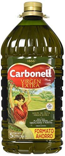 Aceite de oliva virgen extra carbonell 5l en pet verde