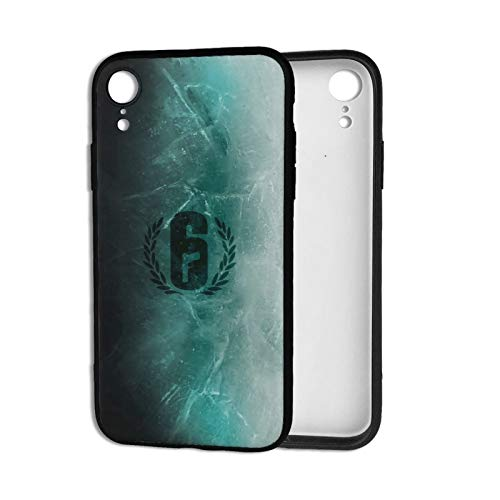 Rainbow six Siege Phone Cases for iPhone XR Shell Basic Back Soft Black Cell Mobile Cover Protective Case with TPU+PC Frame
