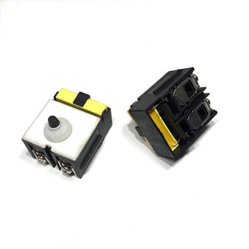 MQEIANG Reemplazo del Interruptor para DEWALT DW806 D28154 D28155 D28156 DW802 DW824 D28112 D28112X DW820 ÁNGULO ARINTER