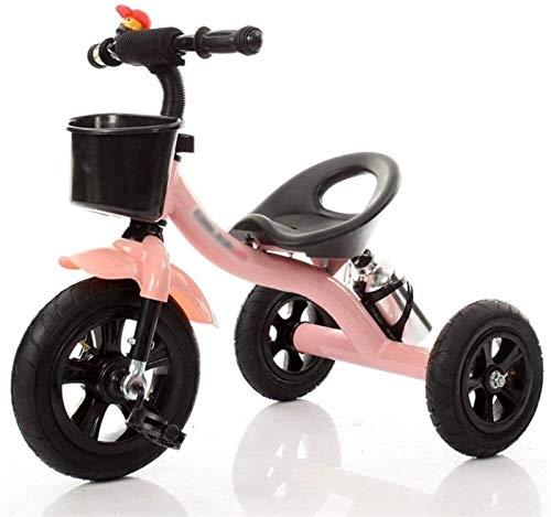 GYF Triciclo de los niños del niño del niño del niño del niño del triciclo de 3 ruedas del coche del bebé del triciclo del juguete del coche 2-6 años de edad