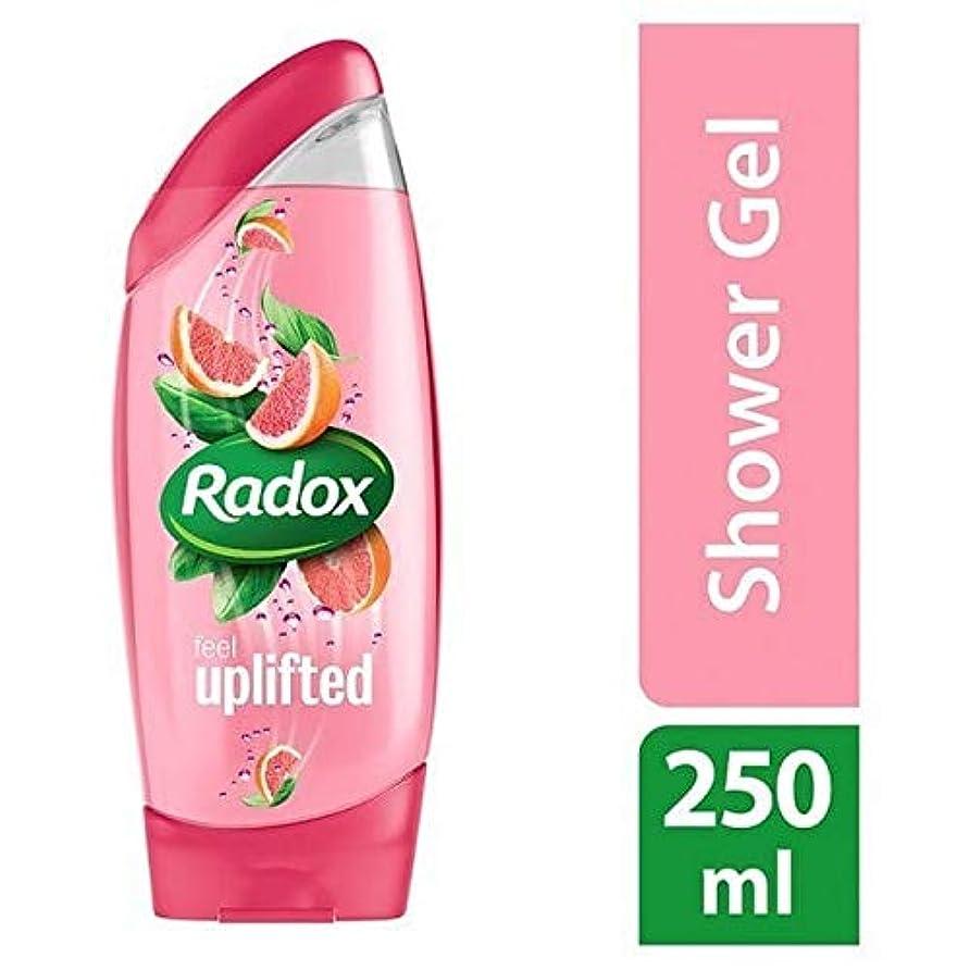 ミキサーあまりにも吸収する[Radox] Radox感隆起シャワージェル250ミリリットル - Radox Feel Uplifted Shower Gel 250ml [並行輸入品]