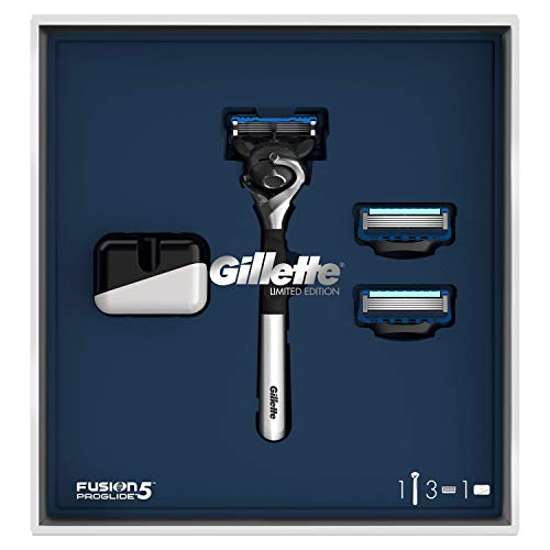 Gillette Fusion5 Geschenkset für 2 Klingen/Rasierer