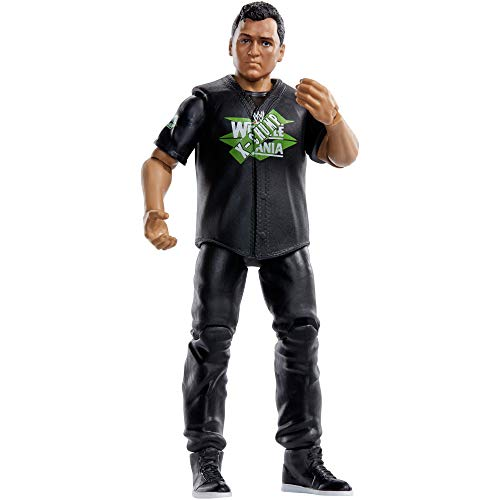 WWE Shane McMahon Wrestlemania 6-inch Action Figure with Articulation, Life-Like Detail and Authentic Ring Gear