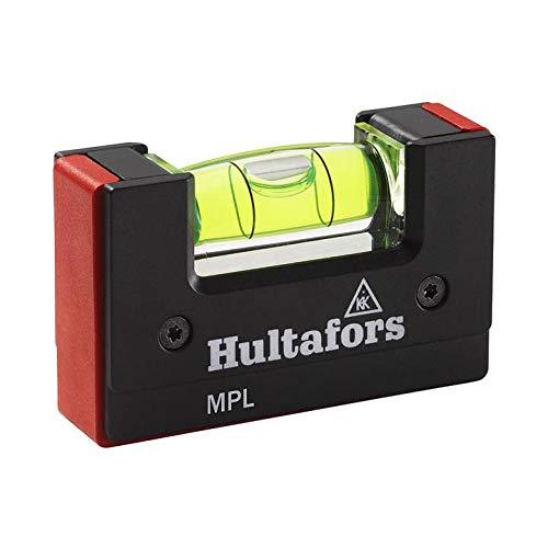 Hultafors Mini Pocket Level MPL, 401303, Mini Taschen Wasserwaage (nicht magnetische Version)