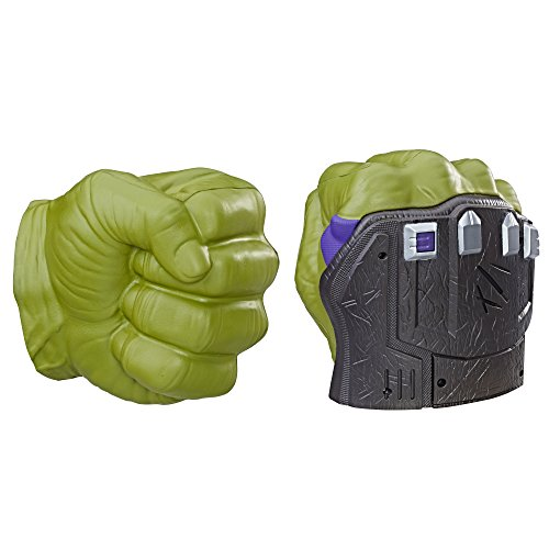 Avengers Marvel Thor: Ragnarok Hulk Smash FX Fists – Motion Activated Sounds,...