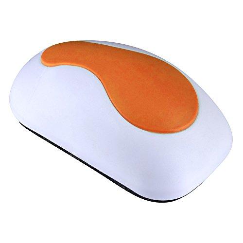 Whiteboard Radiergummi in Maus-Form für Trockenen löschen Stifte und Marker, 4.72 x 2.36 x 1.57 Zoll (Orange)