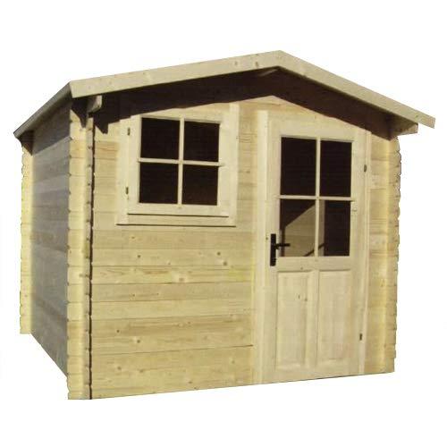 Casetta in legno da giardino 200X200X240 cm sp. 28mm