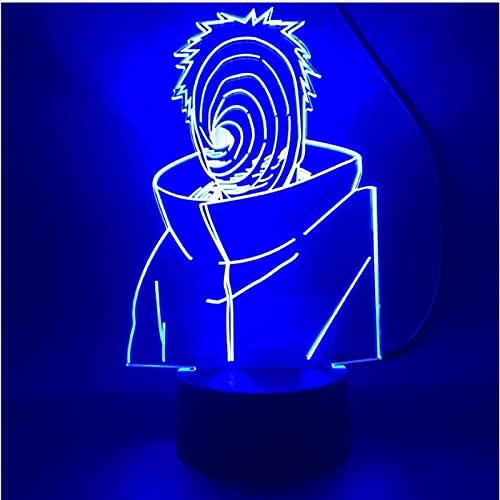 Lámpara 3D Anime Luz De Noche Led Para Habitación Interruptor Multicolor Lámpara De Noche Juguete Para Niños Regalo De Navidad Luz De Noche