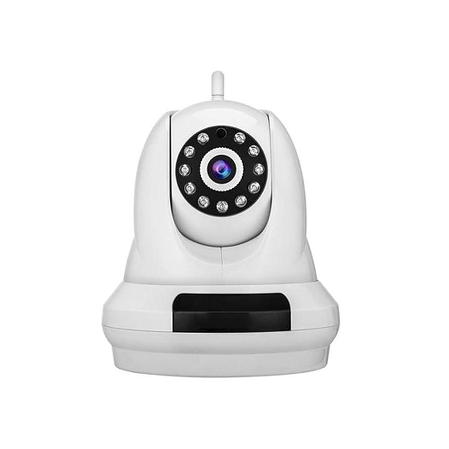 アイドルハブ拡声器防犯カメラ屋内Wi-Fi電話、双方向オーディオ付き1080P Wi-Fi IPカメラ、モーション検出、ナイトビジョン、ベビー/ペットモニター、リモートアラームサポート、SDカードスロット
