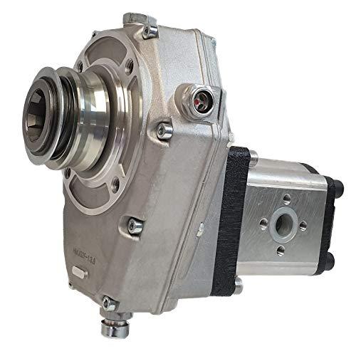 Hydromot- Zapfwellengetriebe. Hohlwelle 1 3/8'' mit Schnappring, Übersetzungsverhältnis: 1:3,8. Baugruppe 2. Größe 25ccm