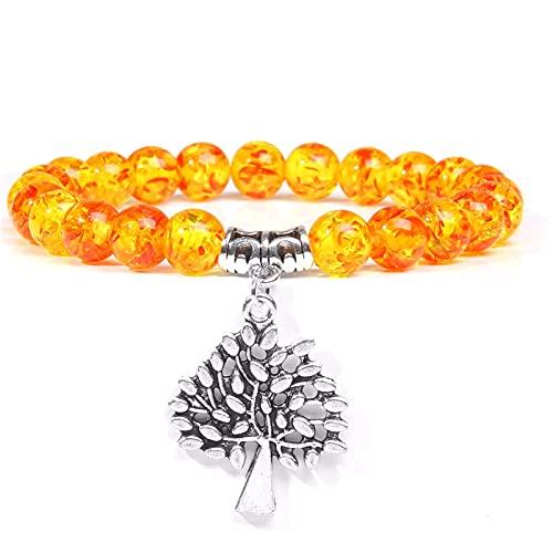 Women Bracelet Lotus Charm Bracelet with Ambers Beads Bracelets For Men Bangles Women Yoga Prayer Bracelet Jewelry Buddhist Gift
