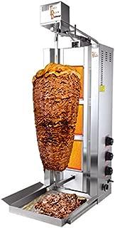 TurcoBazaar 110v 220v Natural Gas 3 Burner 77 LBS Automatic Kebab Machine Doner Machine Doner Kebab Grill Machine 3 Stove ROTISSERIE Machine GYRO Griller