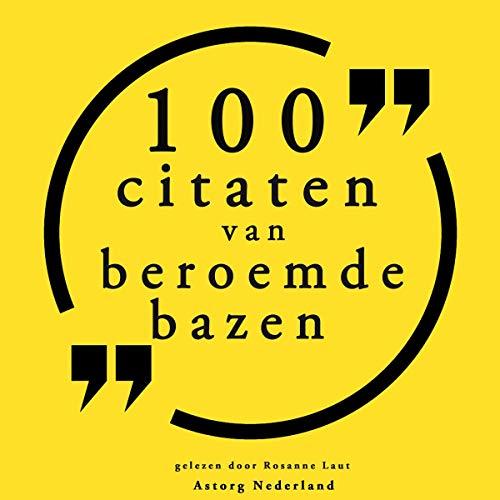 100 citaten van beroemde bazen Titelbild