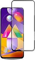 ANTUTU Samsung Galaxy M31S Uyumlu Tam Kaplayan Full Kırılmaz Cam Ekran Koruyucu - Kavisli ve Temperli - Darbe, Çizik ve...