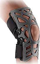 DonJoy Reaction Web Knee Support Brace with Compression Undersleeve: Blue, X-Small/Small