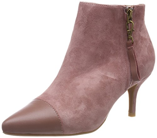 Shoe The Bear Damen Agnete Mix Stiefeletten, Pink (Deep Blush 292), 40 EU