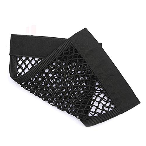WYJW Net Grid Pocket Holder Car Accessories Trunk torage bag Mesh Net A to Styling Luggage Sticker Interior Organizer Stuff Netting