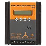 Hybrid Solar Wind Regolatore di carica ibrido solare, Regolatore di carica solare PWM 24V, per apparecchiature di generazione di energia solare-eolica(400w)