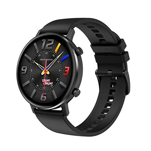 YZK Smart Watch Men's 360 * 360 HD Pantalla HD Dual UI Monitor de frecuencia cardíaca IP68 Waterptoof para Android iOS Teléfono móvil Ladies Watch SmartWatch,B