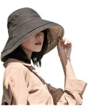 Double-sided Women's Sunshade Hat To Shield From Ultraviolet Sunshine Wide-brimmed Summer Girls Beach Hat Foldable Outdoor Use