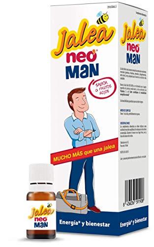 NEO | Jalea Real Liofilizada para Hombre con Vitamina C y Zumo de Granada -14 Unidades | Mejora el Rendimiento Físico-Mental | Aporta Fuerza y Energía | Tomar 1 Vial al Día Preferiblemente en Ayunas