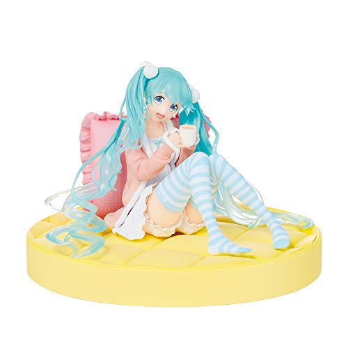 Taito Hatsune Miku Figure Figurine 12cm original plain clothes ver. Anime kawaii