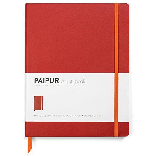 Cuaderno PAIPUR ~ Formato HYBRID cuadriculado ~ Espaciado ANCHO de 10mm ~...