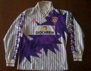 Lotto Maglia Fiorentina 1991-1992 Originale